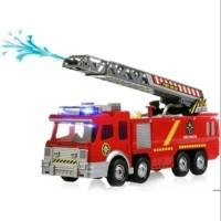 Mainan anak mobil truk damkar pemadam kebakaran bump n go bisa sempr