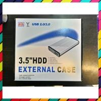 TERMURAH CASING HARDISK HDD EXTERNAL CASE 3 5 INCH SATA