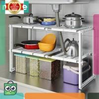 obral . rak penyimpanan multifungsi untuk dapur ukuran flexible