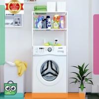 diskon . Rak mesin cuci rak toilet rak penyimpanan rak kamar mandi