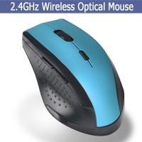 Terbaik Mouse Gaming Wireless 2.4GHz Optical 2000DPI 6D dengan