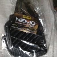 cover radiator carbon nemo honda PCX 150 NEW 2018 Motor Variasi