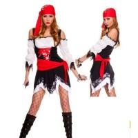 L-1639 - Lingerie Pirate Queen Costume