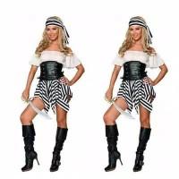 L-1638 - Lingerie Pirate Woman Costume