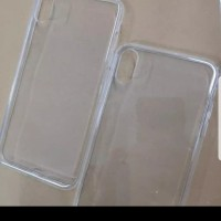 Iphone X / XS Silikon Soft Case Casing Cover Bening Clear Karet Tebal