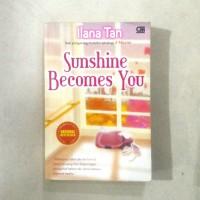 Buku Novel Sunshine Becomes You