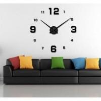 Jam Dinding Raksasa Besar DIY Giant Wall Clock Diameter 80-130cm C102