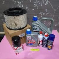 Paket tune up TMO 10/40 Innova lama, Fortuner bensin ada7 item