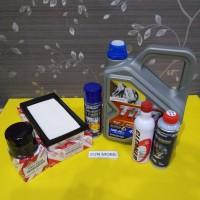 Paket tune up TMO 10/40 Calya 1,2, Sigra 1,2 ada 6 item