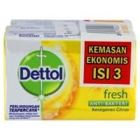 sabun mandi batang dettol citrus 65gram