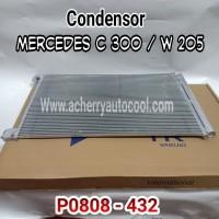 Condensor Kondensor Radiator Ac Mobil Mercedes C 300 / W 205