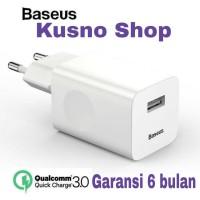 Baseus Wall Charger 24W Quick Charge 3.0 Original Garansi