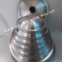 Tutup cetakan martabak manis ukuran 26 diameter 28,5cm bahan alumunium