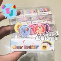 Lilin Ulang Tahun Little Pony / Lilin Karakter Little Pony / HBD