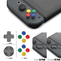 Skull & Co. Nintendo Switch D-Pad Button Cap ThumbStick Set Joy-Con