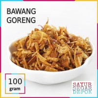 BAWANG GORENG SUPER 50 GRAM / SAYYR SEGAR DEPOK