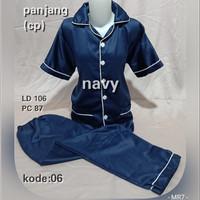 piyama satin / baju tidur / piyama celana panjang