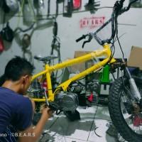 BMX Cub mesin Supra Premium