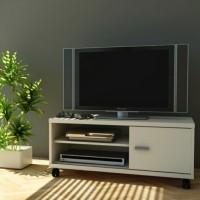 Rak Tv Minimalis Meja Tv Cabinet MUMER 77711 - WHITE