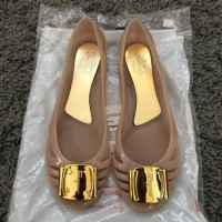 Flat Shoes Jelly Wanita