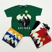 Pakaian Baju Atasan Kaos Anak Laki/Cowok Batman Glow ( bukan kemeja )