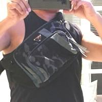 Prada Technical Fabric BELT BAG SAFFIANO (PRELOVED)