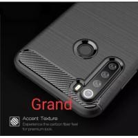 Xiaomi Redmi Note 8 Case Carbon Fiber Clear Casing Ipaky Soft Case