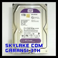 HARDDISK WD / WDC PURPLE CCTV SATA3 1TB 5400RPM WD10PURX SALE
