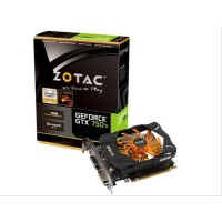 VGA ZOTAC Geforce GTX 750 Ti 2 GB 128 Bit DDR5
