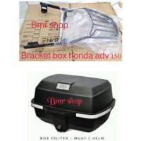 Box kappa k39 kappa k 39 pengganti givi e20 dan bracket box adv 150