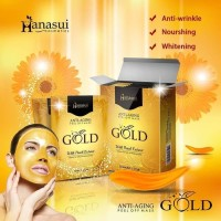 Hanasui Gold Mask Sachset ANTI AGING / BOX