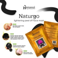 Hanasui Nartugo Black Mask Sachset OILY / BOX