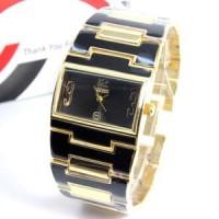 Jam tangan murah Guess Fashion 02 Gold Black