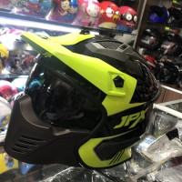 Helm Jpx mx 726 R ORIGINAL JPX SEMI CROSS
