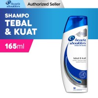 Head and Shoulders Shampoo Tebal dan Kuat 165 ML