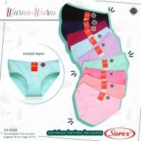 Pakaian Dalam Wanita CD / Celana Dalam Cewek Warna-Warni Sorex 15228