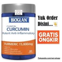 Bioglan Clinical Curcumin Anti Inflammatory Turmeric 15,800 mg 60 Tabs
