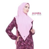 Jilbab bergo MUNIRA MB 37 Original - Bergo instan jersey pet busa