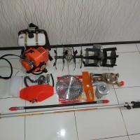 paket mesin Potong Rumput,pengembur,penyiang ,mesin steam,pompa air