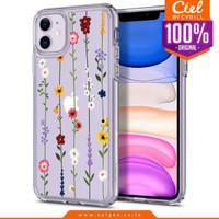 Case iPhone 11 Pro Max / Pro / 11 Spigen Ciel Cecile Flower Casing