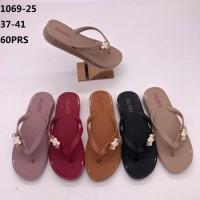 Sandal jepit karet Balance 1069-25 untuk wanita dewasa