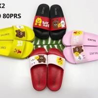 Sandal Selop Karet Balance 813-X2 Untuk wanita dewasa