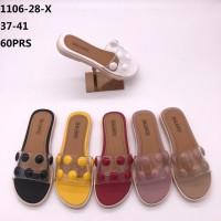 Sandal Selop Karet Balance mute mute 1106-28 X wanita dewasa