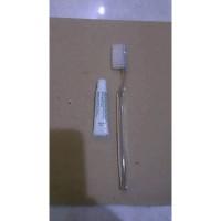 Odol + Sikat Kristal Panjang + Packing plastik