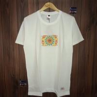 Ngetren kaos distro lengan pendek t-shirt baju pria 4.20 white 9