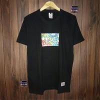 Ngetren kaos distro lengan pendek t-shirt baju pria 4.20 black 8