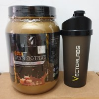 M1 Muscle first gold pro gainer 2lbs 2 lb lbs gold series mass gainer