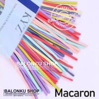 Balon Panjang / Pentil / Twist / Magic / Cacing warna Pastel Pastel