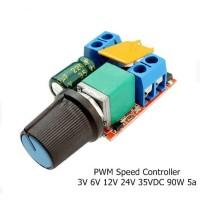 PWM Motor Speed Controller 3V 6V 12V 24V 35VDC 90W 5a DC
