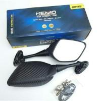 Spion Fairing / R25 Carbon pendek Nmax PCX CBR Ninja GSX